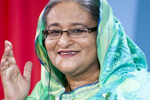 PM Hasina        -File Photo