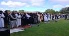 ক্রাইস্টচার্চের আল-নূর ও লিনউড মসজিদে জুমার নামাজ আদায়
