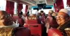 মন্ত্রীদের বাসযোগে টুঙ্গিপাড়ার উদ্দেশে রওনা