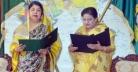 শপথ নিলেন সৈয়দ আশরাফের বোন: সৈয়দা জাকিয়া