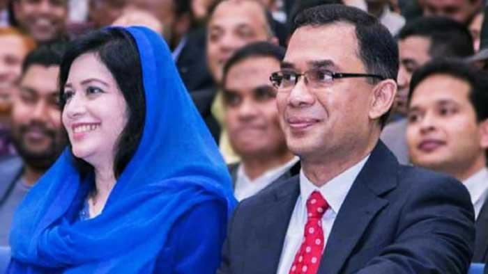 তারেক রহমান ও তার স্ত্রী ডা. জোবাইদা রহমান
