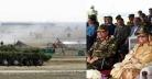 সেনাবাহিনীর শীতকালীন প্রশিক্ষণ প্রত্যক্ষ করেন প্রধানমন্ত্রী