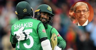 বাংলাদেশ ক্রিকেট দলকে অভিনন্দন জানিয়েছেন ফখরুল