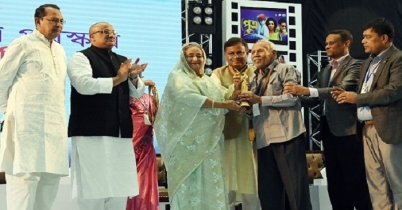 জাতীয় চলচ্চিত্র পুরস্কার ২০১৭-১৮ প্রদান করলেন প্রধানমন্ত্রী
