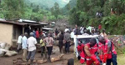 উগান্ডায় বৃষ্টিপাত-ভূমিধসে ১৬ জনের মৃত্যু